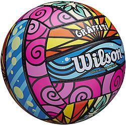 Мяч волейбольный игровой Wilson Graffiti Volleyball оригинал