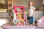 Кукольный домик для барби+лифт +2куклы в подарок.Дом для кукол барби, фото 5