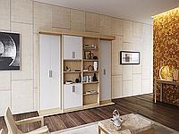 Шкаф-кровать трансформер с пеналом и полками