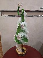 Ёлка искусственная ручной работы 37 см сувенир
