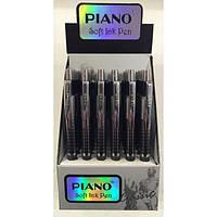 Ручка PT-189 Piano шариковая автоматическая 0,7мм синяя уп24