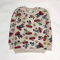 Детская теплая пижама бравл старс пижамка для мальчика Кольт бежевая Бравл Старс Brawl stars 7-8 лет, фото 2