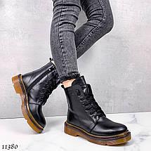 Ботинки кожа на шнурках 11380 (ЯМ), фото 3