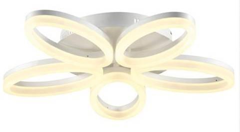 Светодиодная люстра потолочная Horoz 019-005-0040 LED 40W 4000K белая Код.58497, фото 2