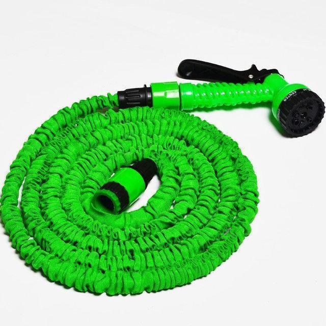 Шланг для поливу XHose 15м з розпилювачем Зелений (Bhus999525396)