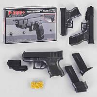 Іграшка Пістолет Р .698+ L 00004 (48) на пульках, пластиковий, в коробці