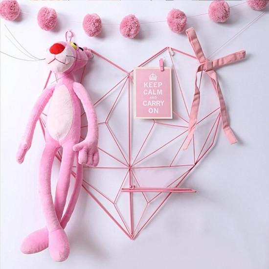 Настенный органайзер Мудборд Сердце 70 х 70 см Розовый (jfg124034)