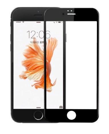 Захисне скло iMax 3D для iPhone Чорний 8 (1812)