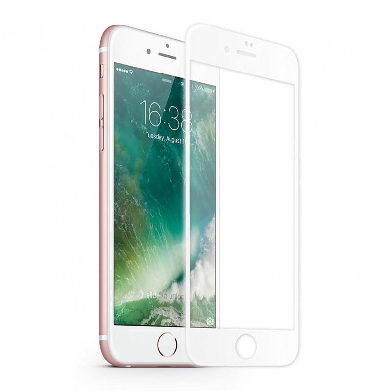Защитное стекло iMax 3D для iPhone 6/6S Белый (1815)