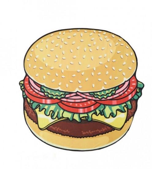 Пляжный коврик Hamburger Разноцветный (ds121462)