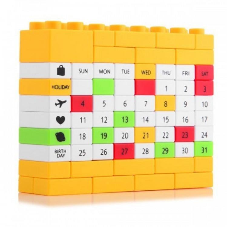 Вічний Календар Puzzle Yellow (ji123529)
