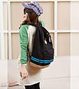 Рюкзак міський Sports bars GHU00062 Чорний (tau_krp240_00062aq), фото 2