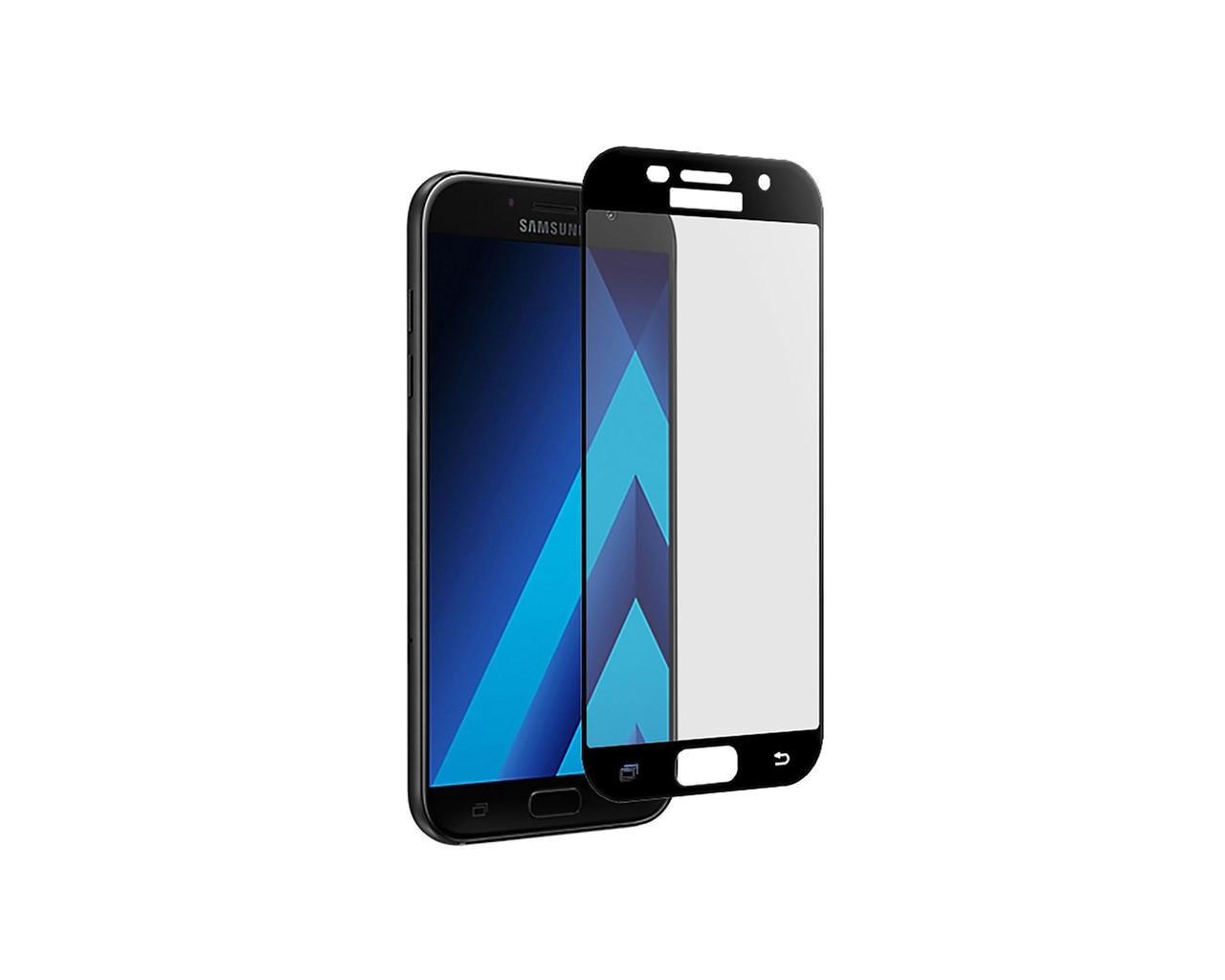 Захисне 3D скло Full Cover для Samsung A5 2017 A520 Black (1870)