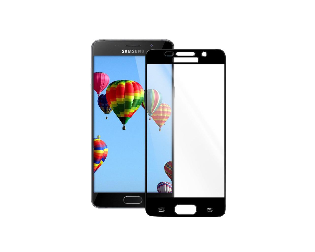 Захисне 3D скло Full Cover для Samsung A5 2016 A510 Black (1873)