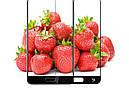 Захисне 3D скло Full Cover для Samsung A6 2018 A600 Black (1876), фото 4