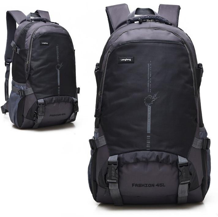 Рюкзак туристический Langfeng 45 NB00255 Черный (tau_krp550_00255ghj)