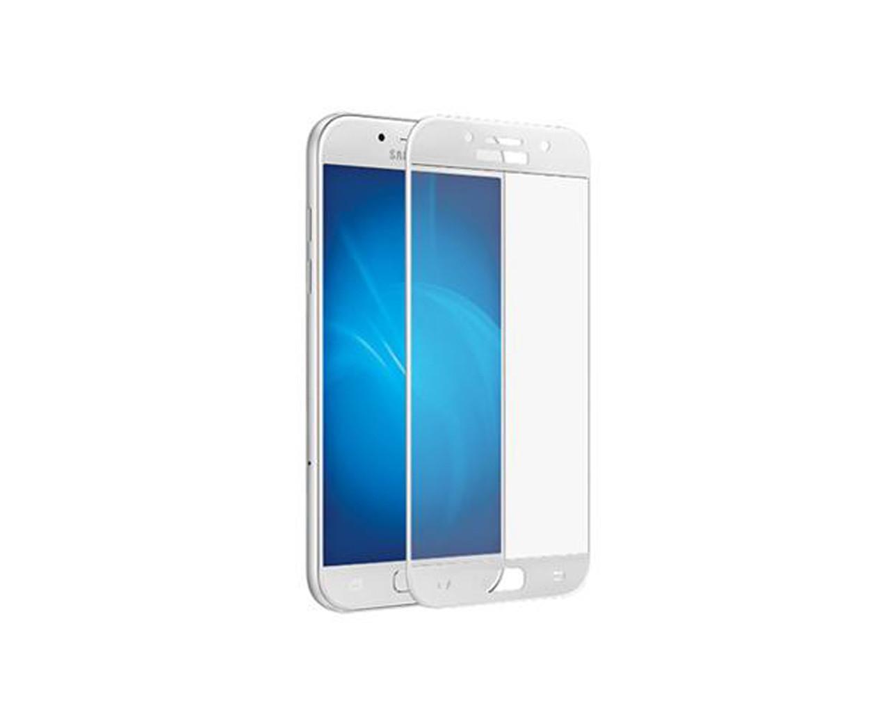 Защитное 3D стекло Full Cover для Samsung A5 2016 A510 White (1874)