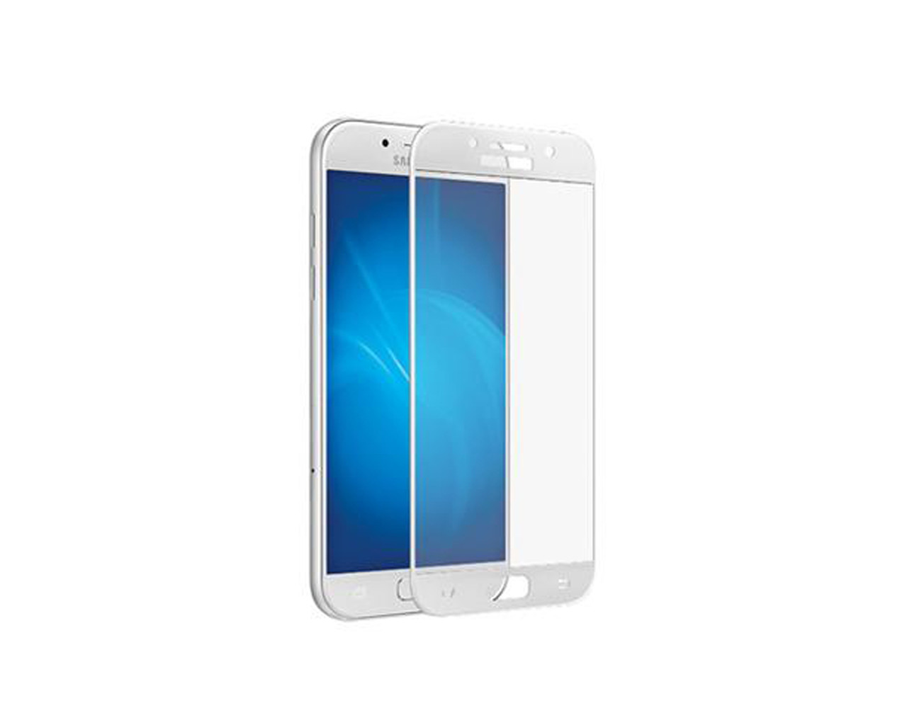 Защитное 3D стекло Full Cover для Samsung A7 2016 A710 White (1880)