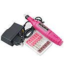 Машинка для маникюра и педикюра VARIABLE SPEED ROTARY Розовый (ji1036615418), фото 2