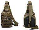 Сумка-рюкзак штурмовая тактическая Battler v.2 LO00241 Дубок Зеленый (tau_krp390_00241ds), фото 2