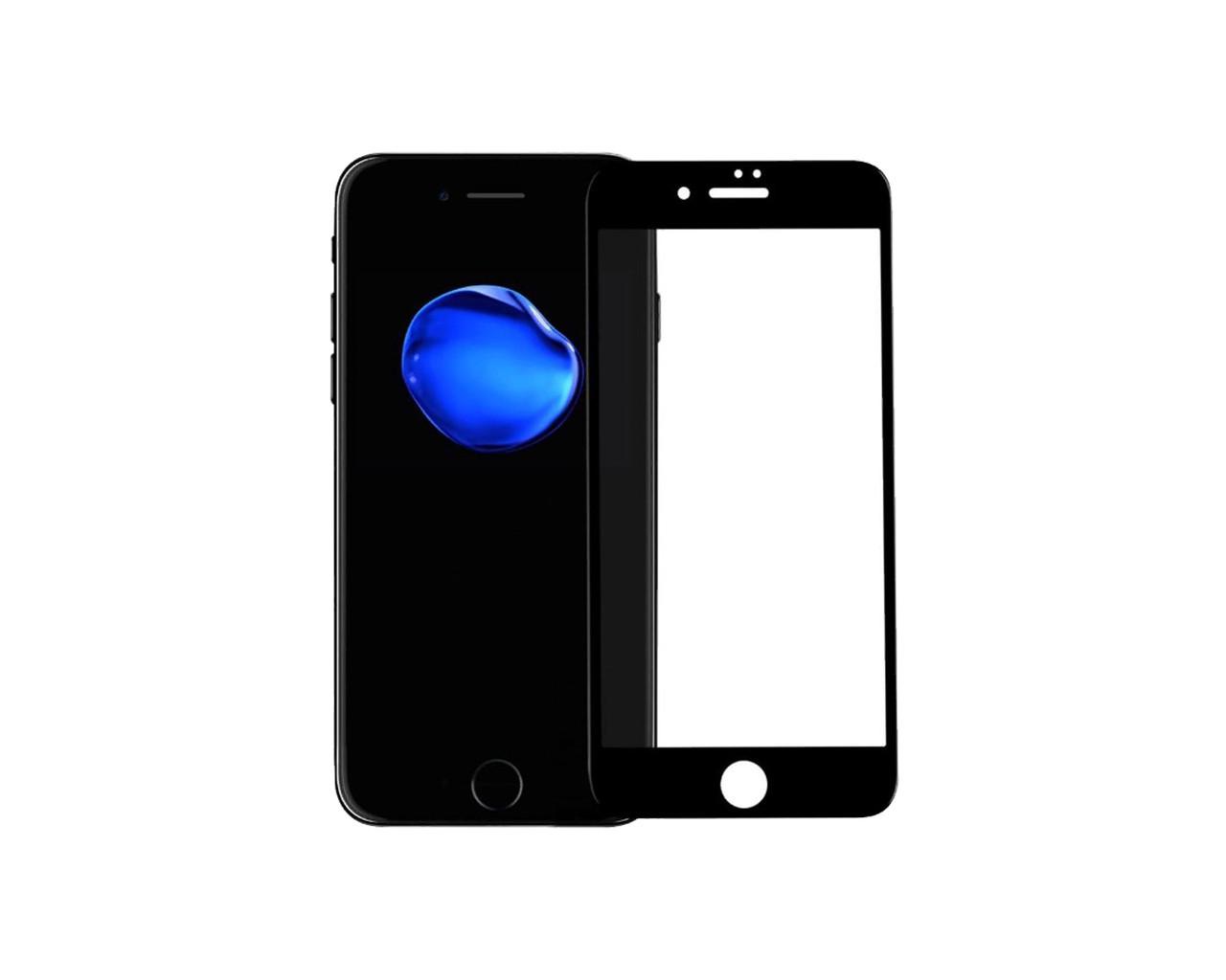 Защитное стекло 3D Full Cover для iPhone 6/6S Черный (2318)