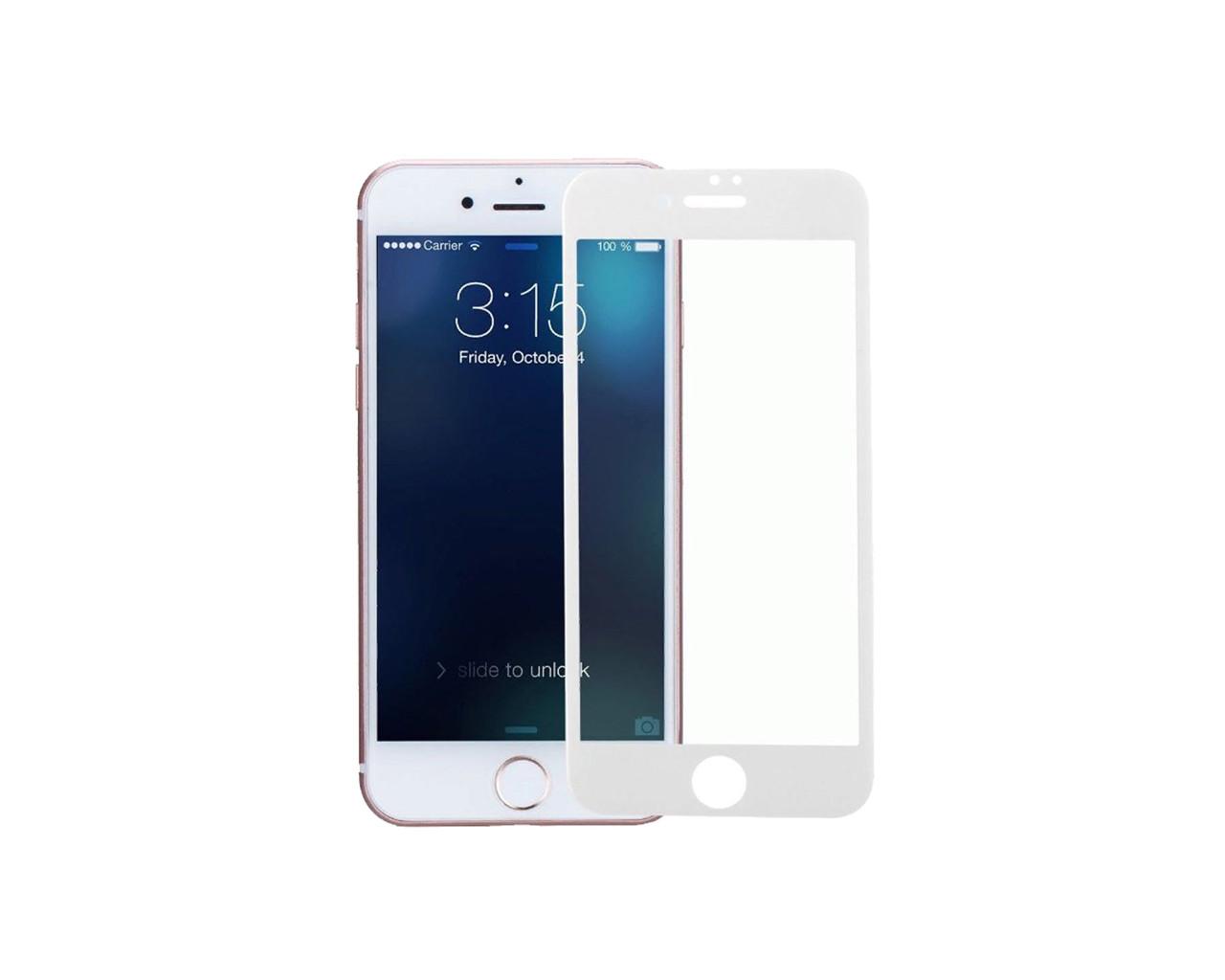 Захисне скло 3D Full Cover для iPhone 6/6S Білий (2319)