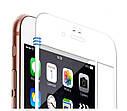 Захисне скло 3D Full Cover для iPhone 6/6S Білий (2319), фото 6
