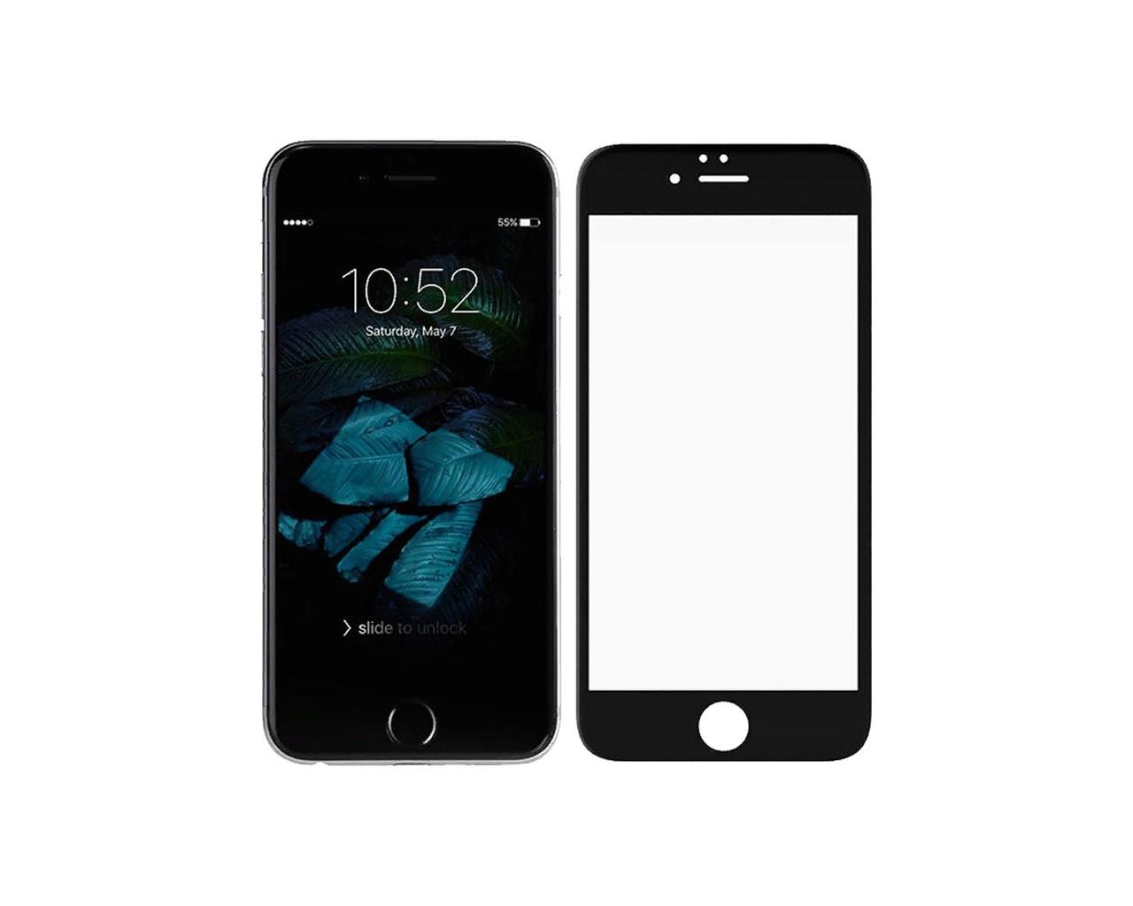 Защитное стекло 3D Full Cover для iPhone 7 Черный (2322)
