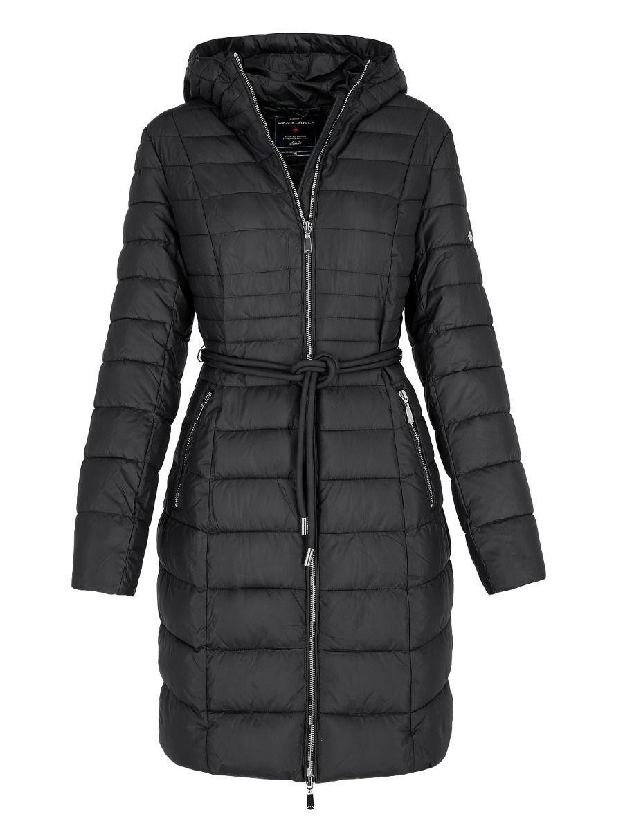 Длинная женская куртка пальто Volcano J-Dotti L22058-700