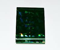 Фольга переводная 1,5 м, Цвет Зелёный голограмма