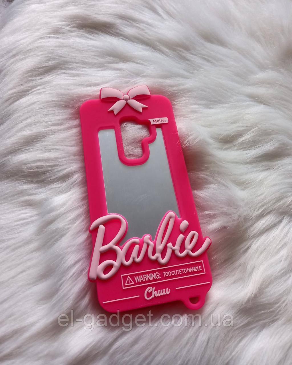 Чехол 3D для Samsung Galaxy S9 plus Барби Barbie розовый