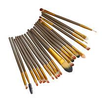 Набор кистей для макияжа Supretto 20 штук (5685)