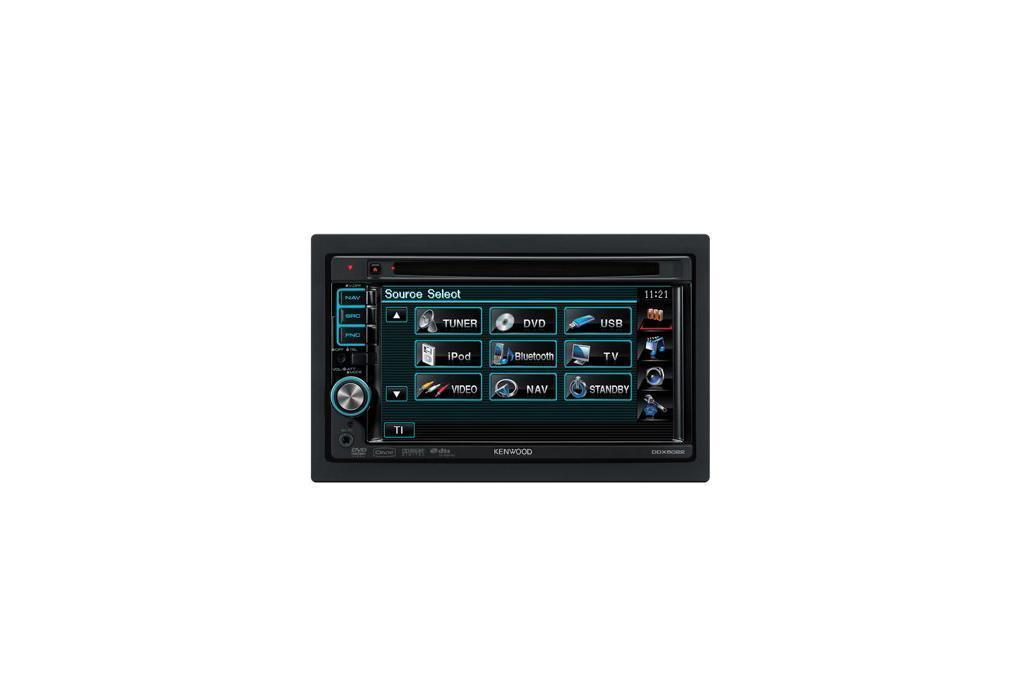 DVD-ресивер/монітор KENWOOD DDX-5022