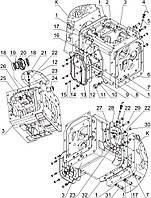 Группа 17. Коробка передач Подгруппа 1701. Корпус КП. Привод ПВМ