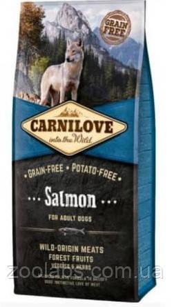 Корм Carnilove для собак с лососем | Carnilove Adult Salmon 12 кг