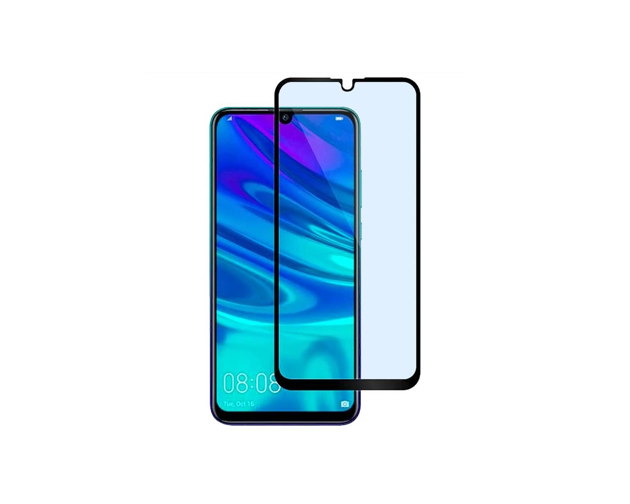 Захисне 3D скло Full Cover для Huawei P Smart+ 2019 Чорний (2448)