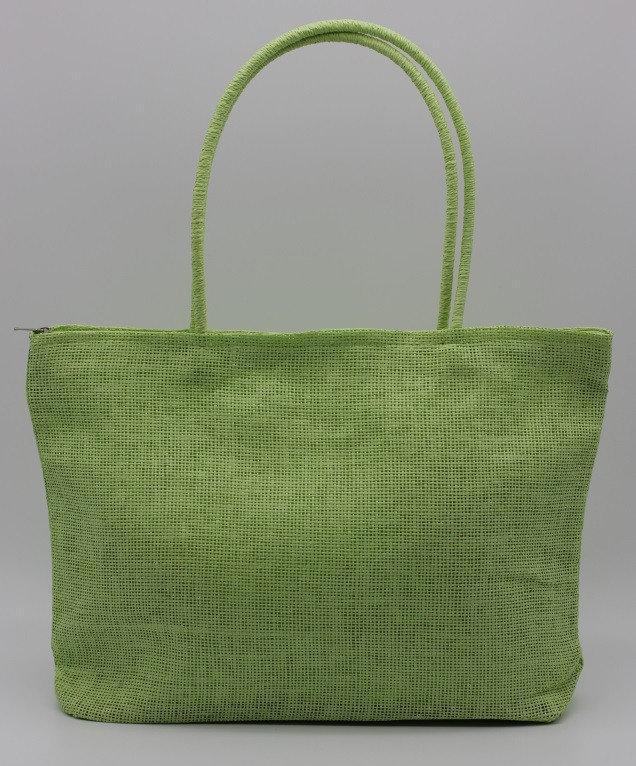 Сумка Summer из мешковины Светло-зеленый (GH00389)