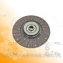 Диск сцепления ЗИЛ-130 /стекловолокно/ 130-1601130