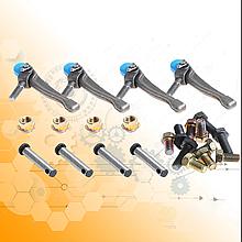 Ремкомплект диска сцепления нажимного(корзины) ЗИЛ-130, 130-1601093(лапки, пальцы, гайки).