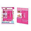 Ігровий набір Modern Kitchen кухня зі звуком і світлом Pink (QF26215PW), фото 2