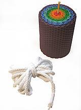 Фитиль свечной плетеный диаметр 5 мм цена за 1 метр