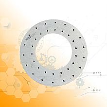 Накладка диска сцепления ЗИЛ-130 сверленая /36 - отверстий/ 130-1601138-А2