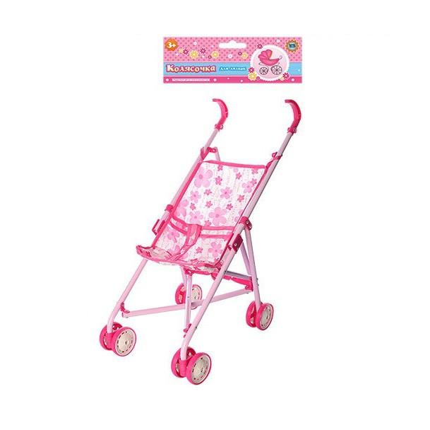 Іграшкова Коляска для ляльок UK002 Pink (gab_rp150fcvwj)