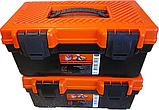 Ящик для инструмента инструментов органайзер пластиковый авто автомобильный магнитный браслет строительный, фото 5