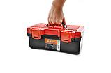 Ящик для инструмента инструментов органайзер пластиковый авто автомобильный магнитный браслет строительный, фото 7