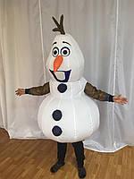 Надувной костюм снеговика Олава