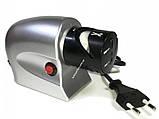 Точилка для ножей электрическая електро точило ножів от сети, розетки електрична KNIFE SHAPER 220 v/в сетевая, фото 2