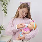 Интерактивная кукла для кормления Мия Лувабелла / Mealtime Magic Mia Interactive Feeding Baby Doll Luvabella, фото 7