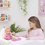 Интерактивная кукла для кормления Мия Лувабелла / Mealtime Magic Mia Interactive Feeding Baby Doll Luvabella, фото 8