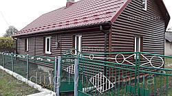 Металевий сайдинг, металевий блок-хаус за хорошими цінами у Львові.